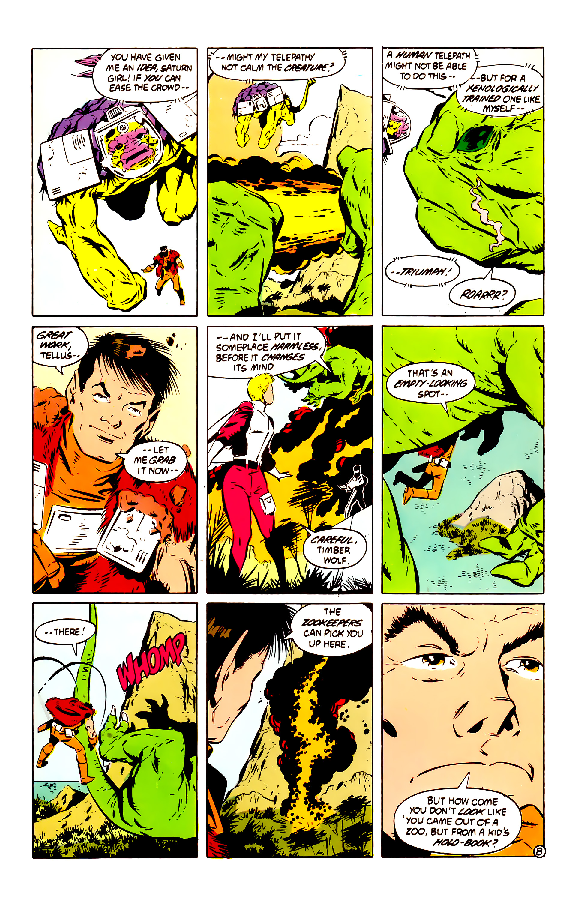 Legion of Super-Heroes (1984) 60 Page 8