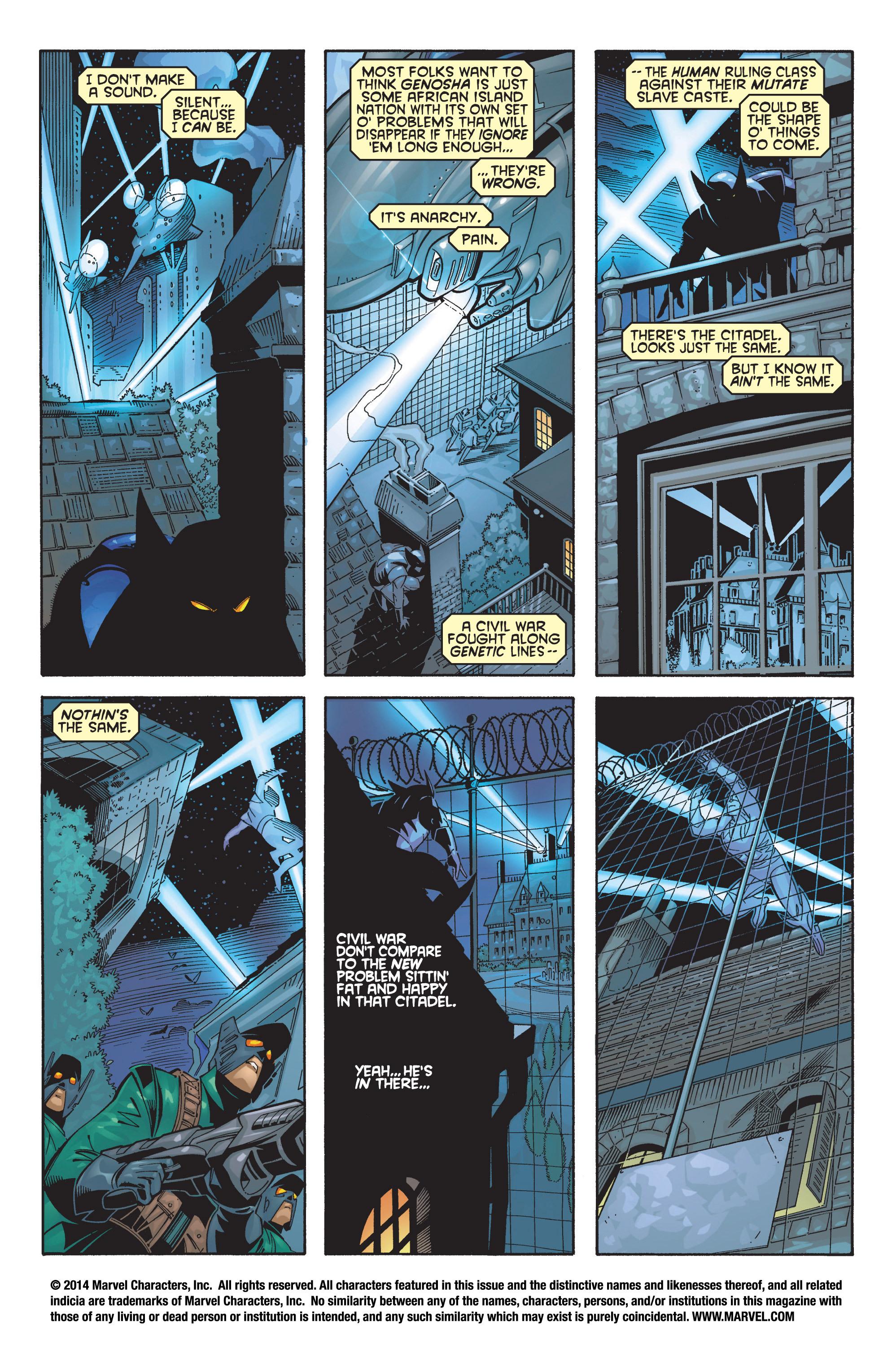 Read online Uncanny X-Men (1963) comic -  Issue #368 - 2