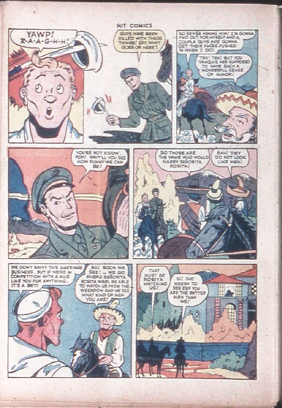 Read online Hit Comics comic -  Issue #36 - 48