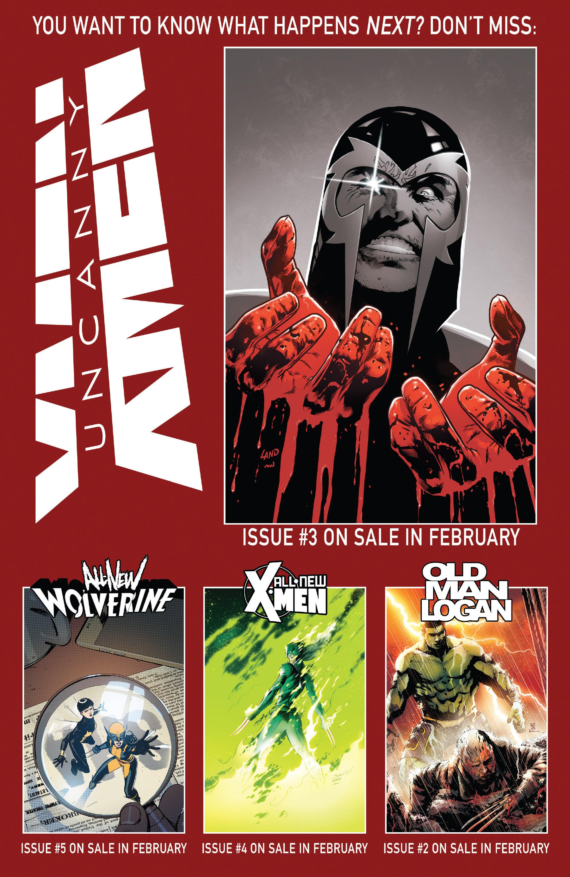 Read online Uncanny X-Men (2016) comic -  Issue #2 - 23