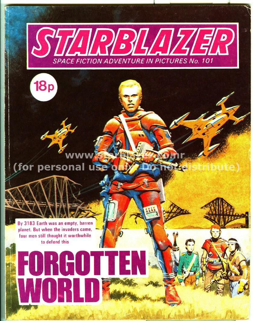 Starblazer issue 101 - Page 1
