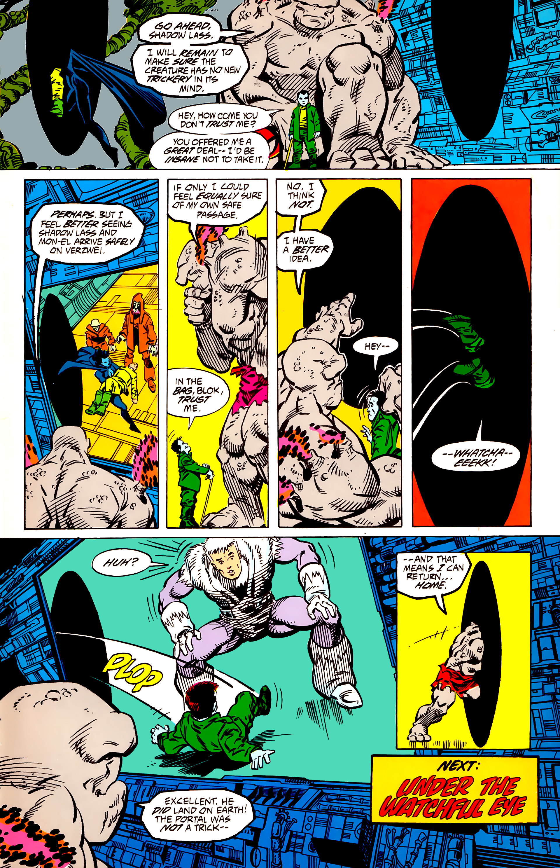Legion of Super-Heroes (1984) 56 Page 27