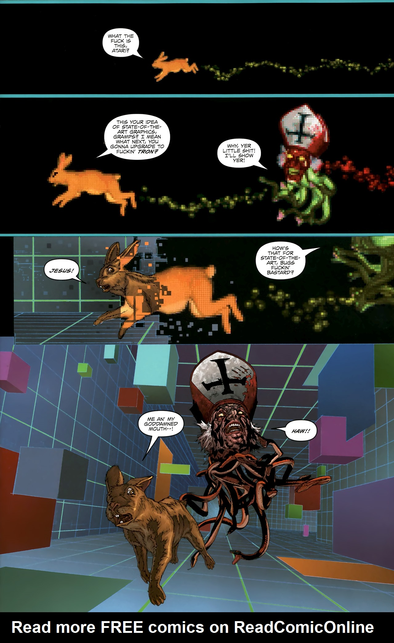 Read online Chronicles of Wormwood: The Last Battle comic -  Issue #5 - 8
