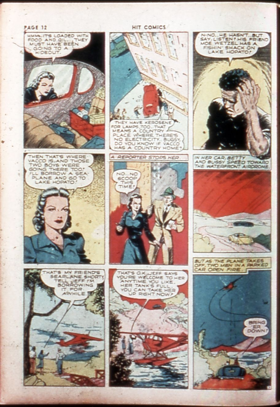Read online Hit Comics comic -  Issue #14 - 14