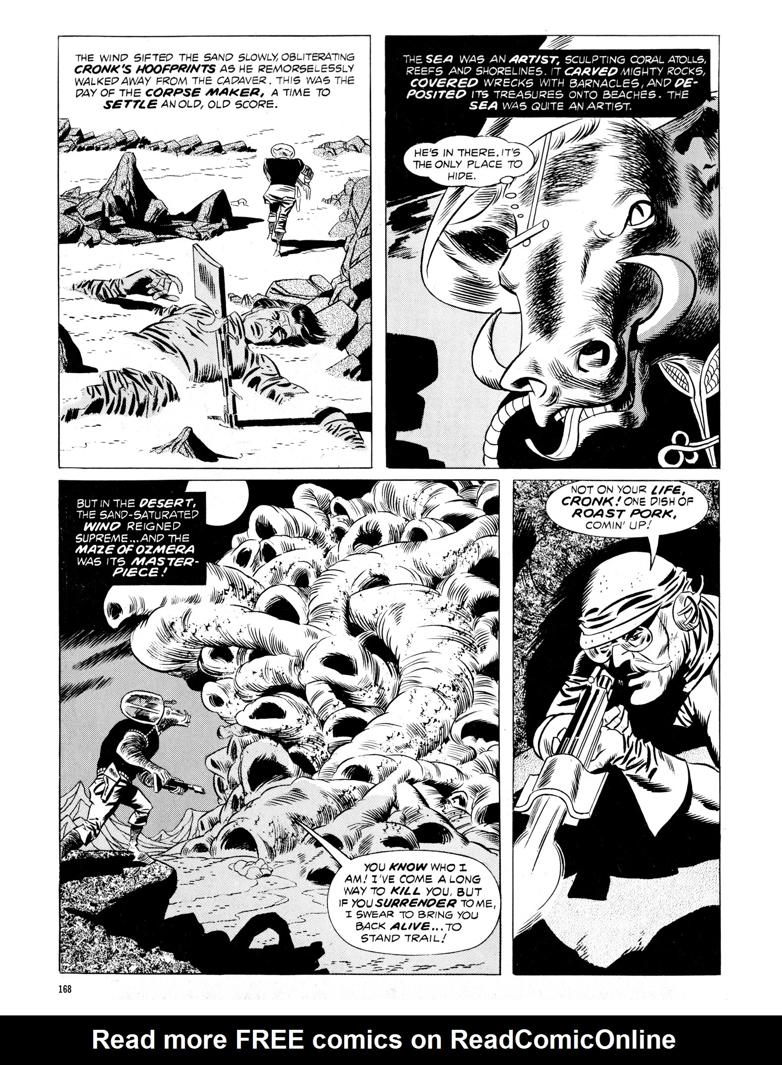 Read online Eerie Archives comic -  Issue # TPB 16 - 169