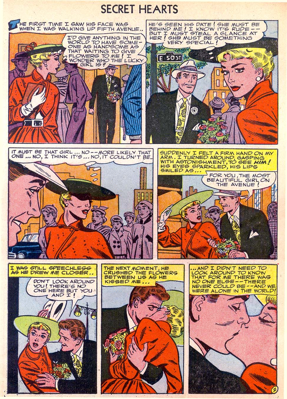 Read online Secret Hearts comic -  Issue #11 - 27