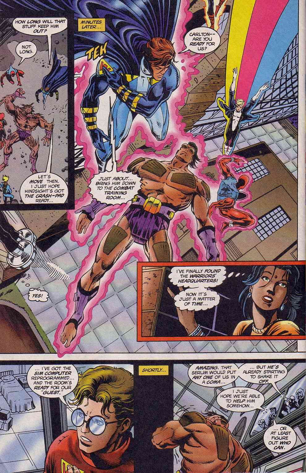 The New Warriors Issue #62 #66 - English 23