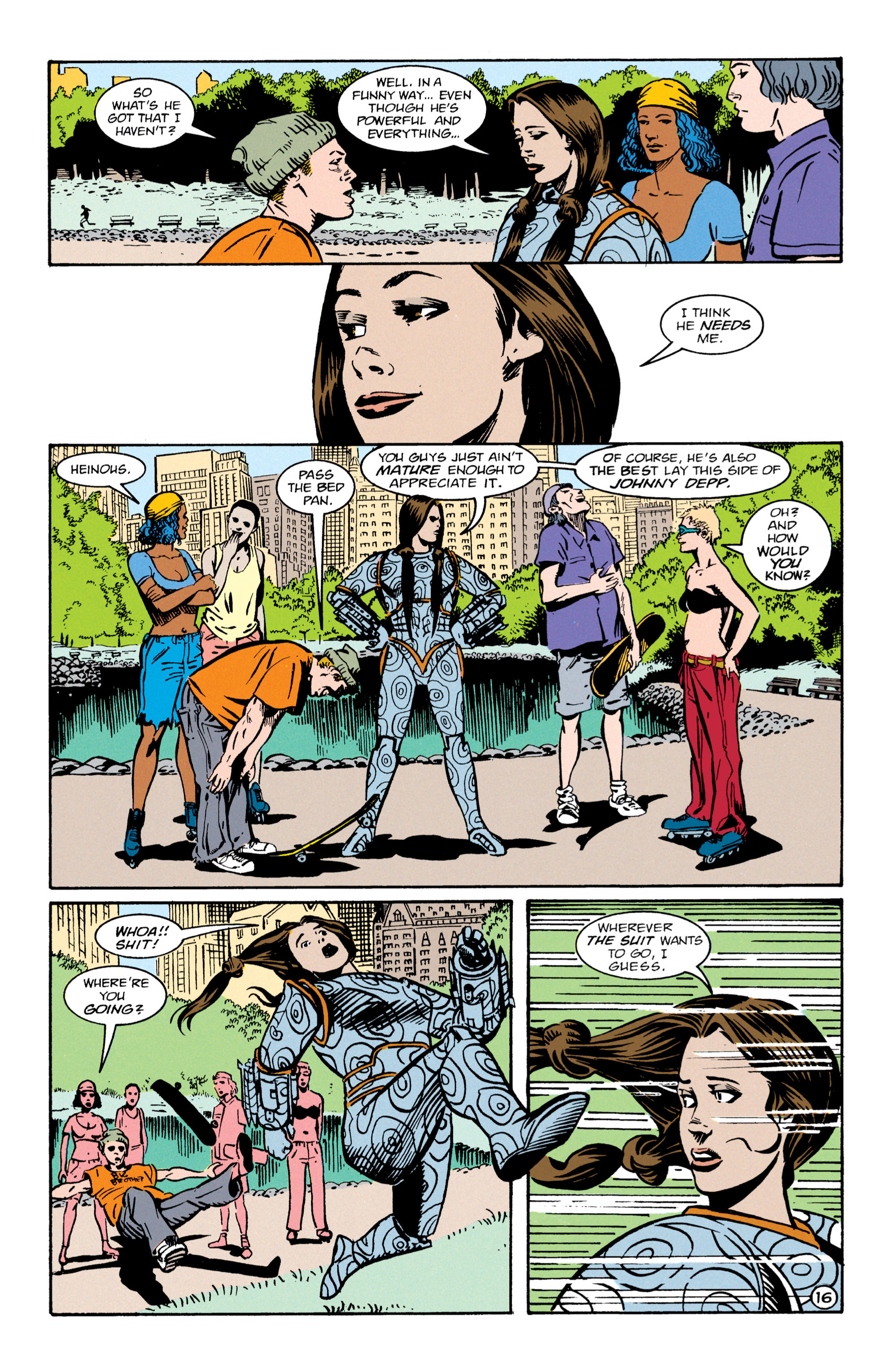 Read online Shade, the Changing Man comic -  Issue #64 - 17