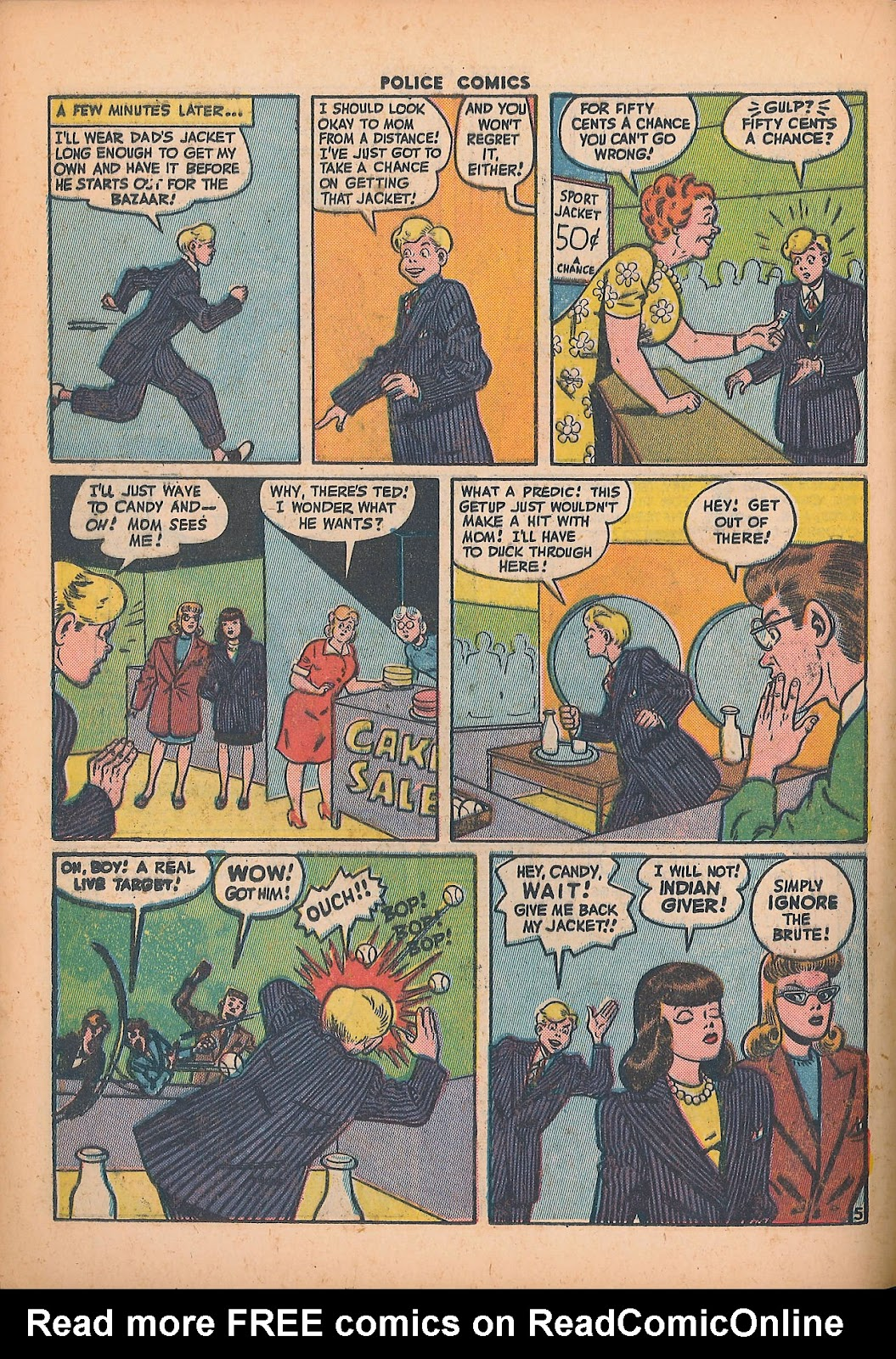 Police Comics issue 44 - Page 34