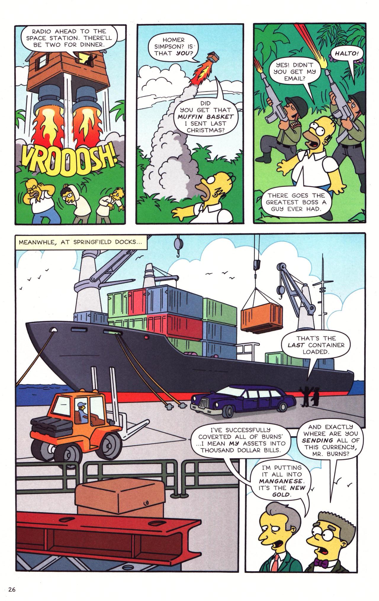 Read online Simpsons Comics comic -  Issue #133 - 21