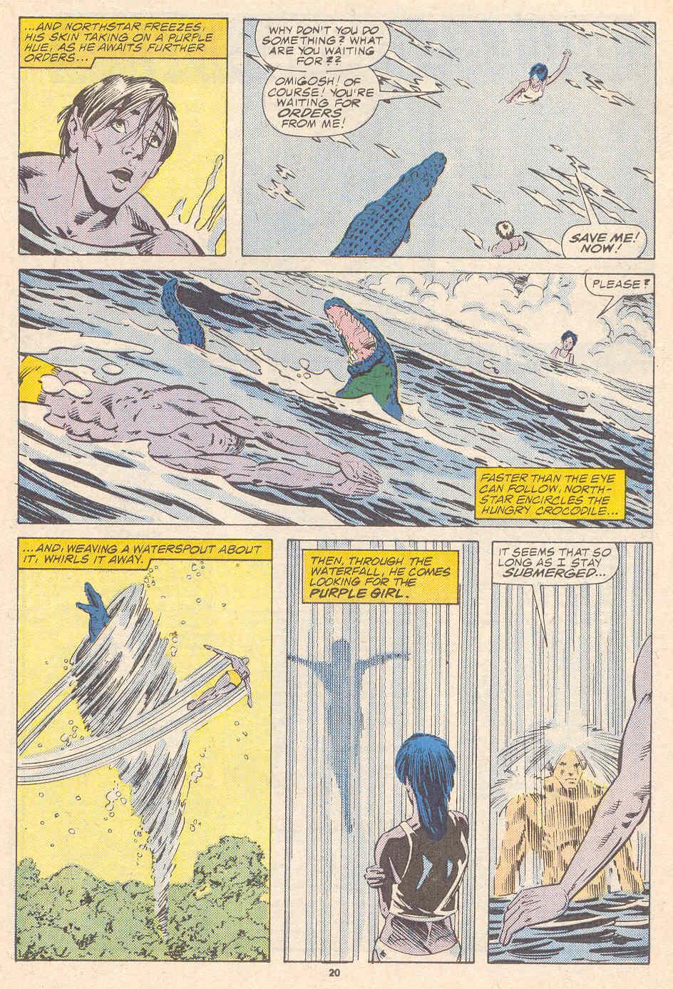 Read online Alpha Flight (1983) comic -  Issue #41 - 21
