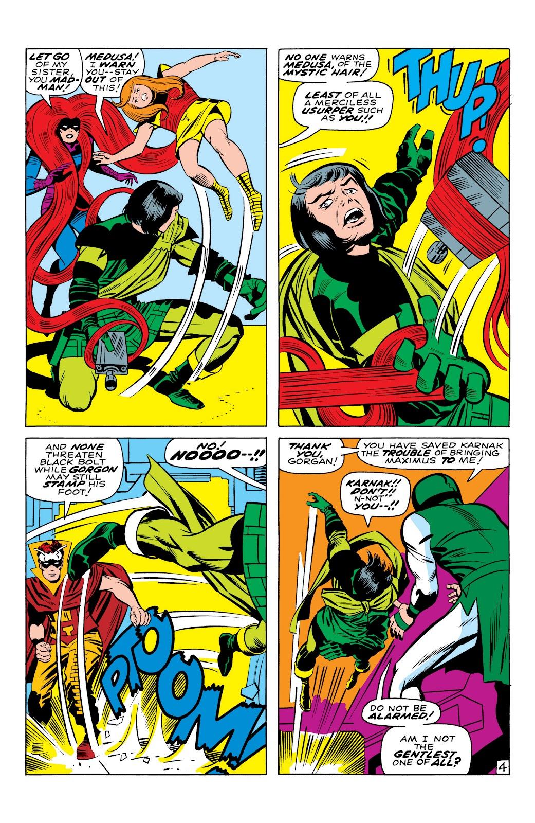 Read online Marvel Masterworks: The Inhumans comic -  Issue # TPB 1 (Part 1) - 26