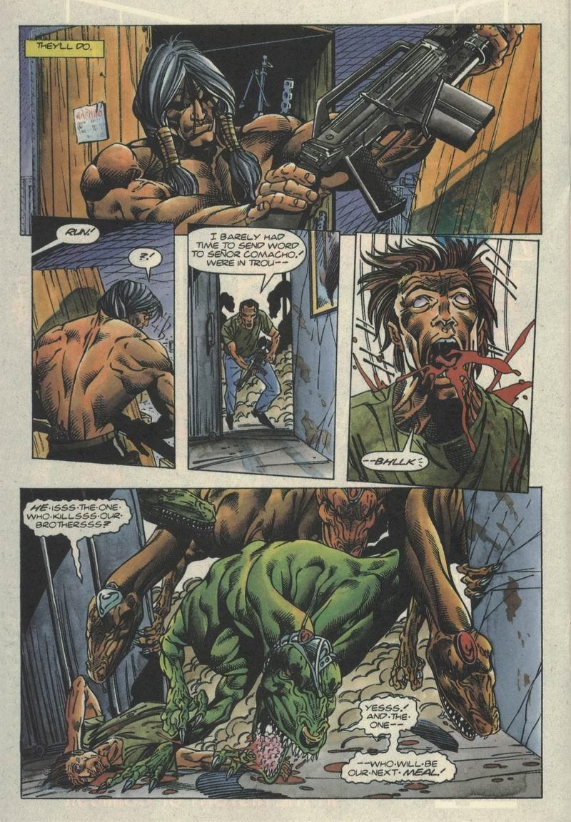Read online Turok, Dinosaur Hunter (1993) comic -  Issue #2 - 14