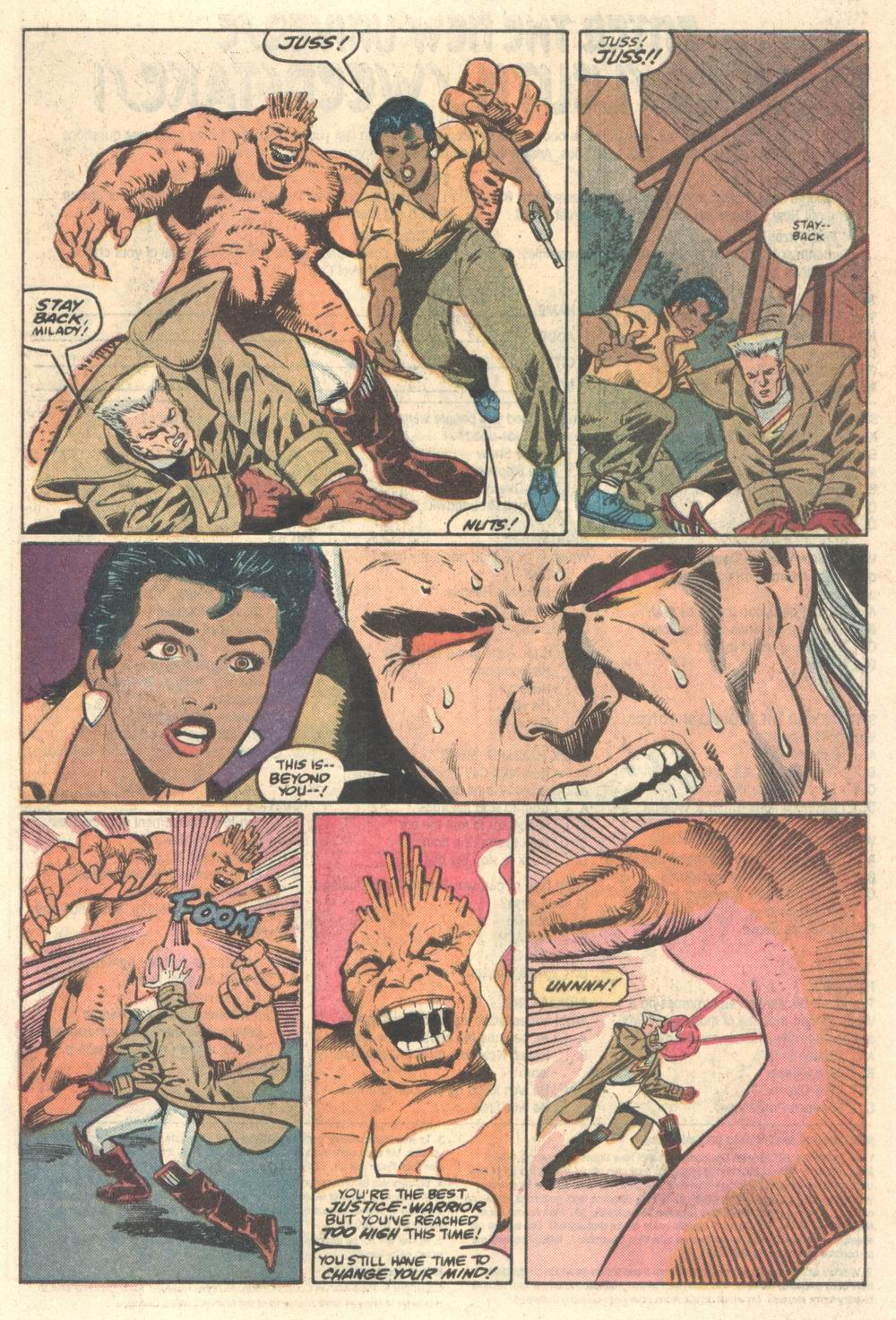 Read online Justice (1986) comic -  Issue #5 - 20