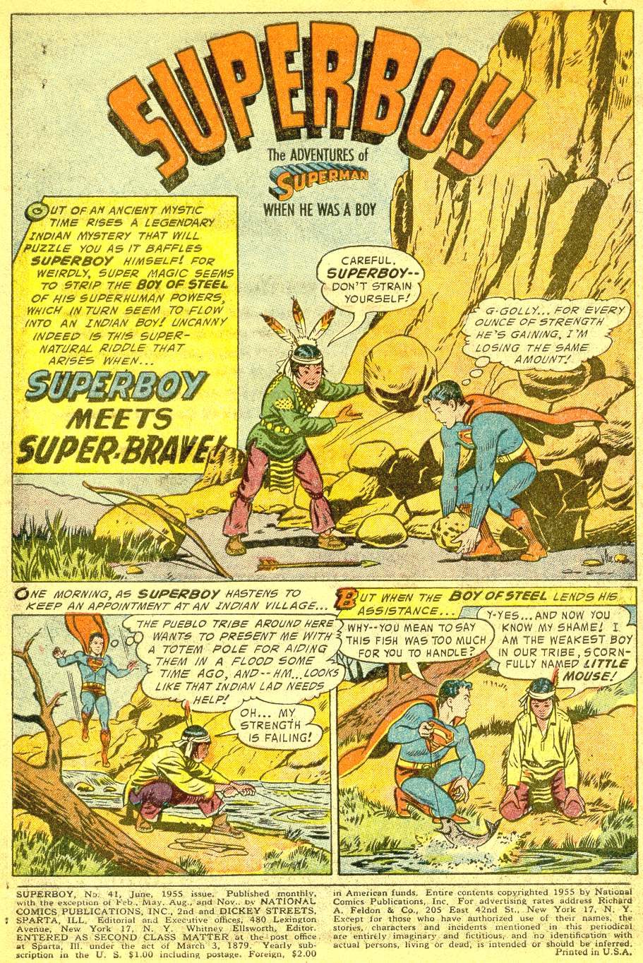 Superboy (1949) issue 41 - Page 2