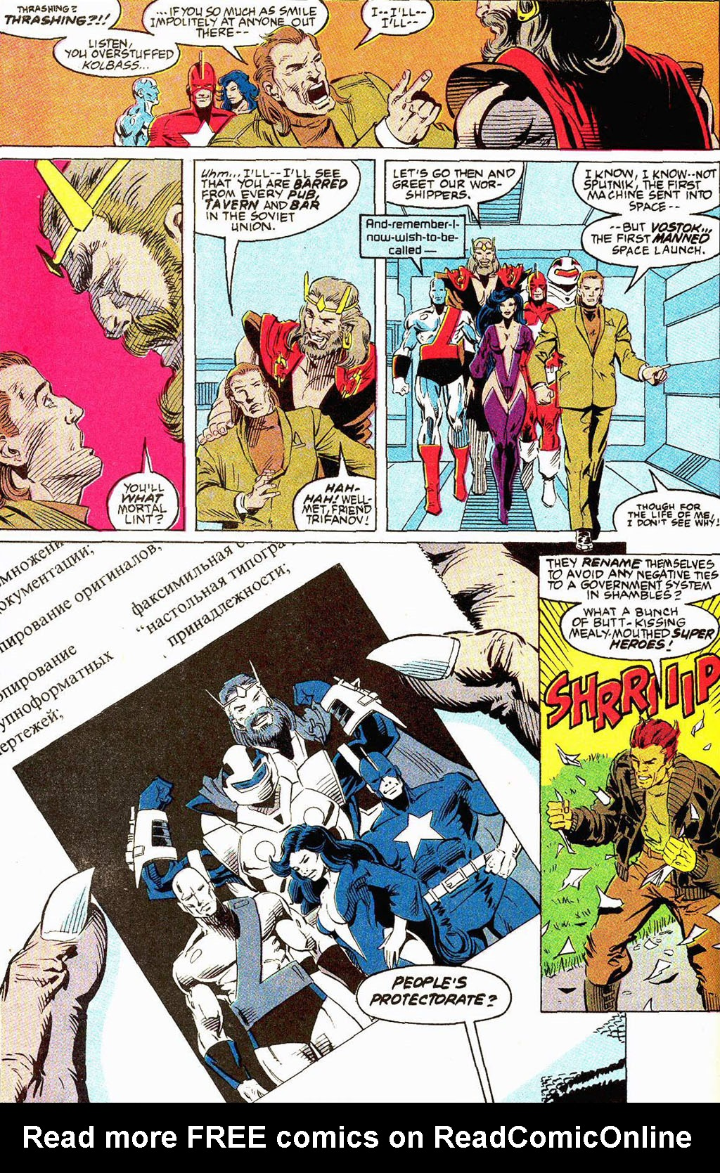 Read online Soviet Super Soldiers comic -  Issue # Full - 63