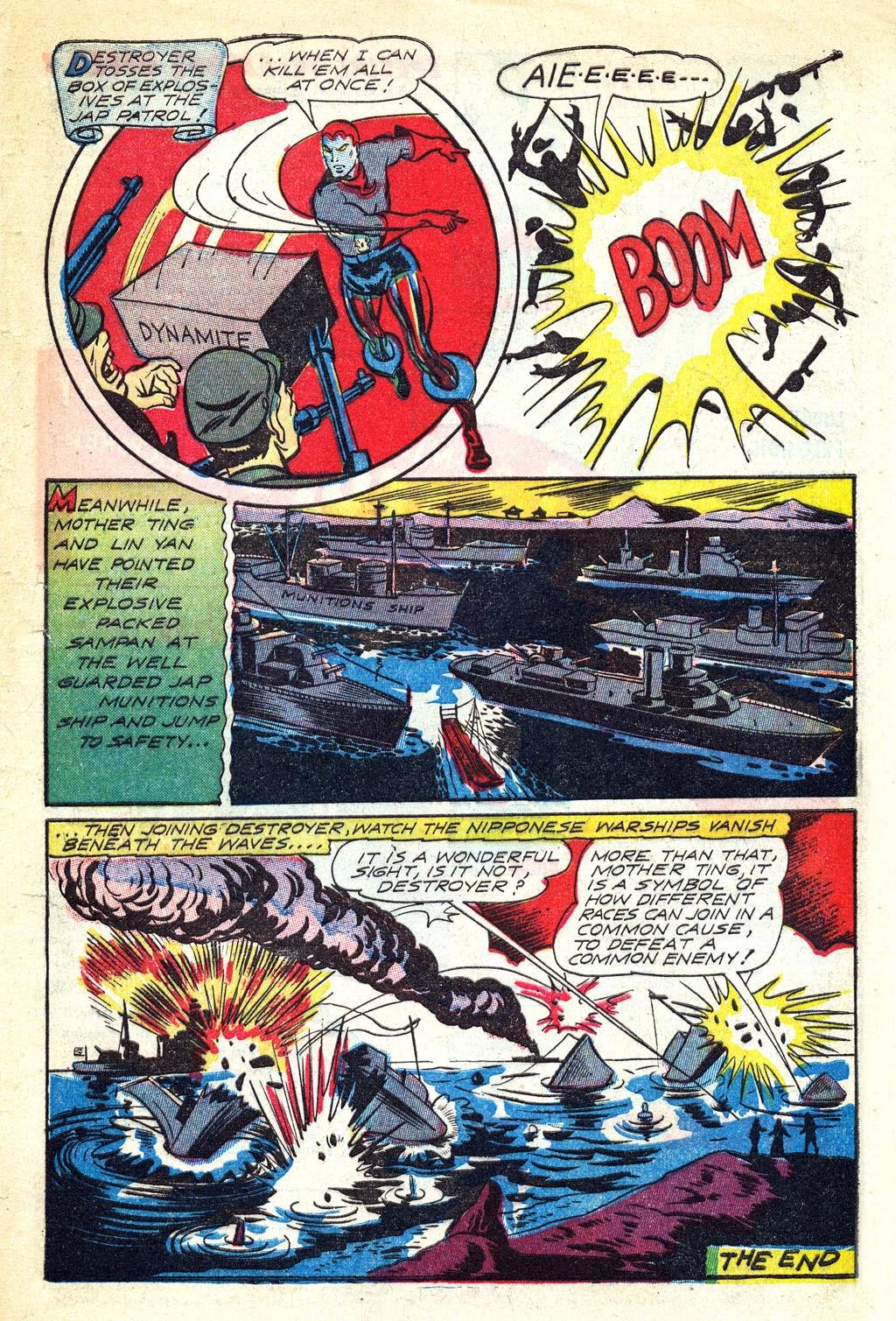Read online Mystic Comics (1944) comic -  Issue #3 - 33