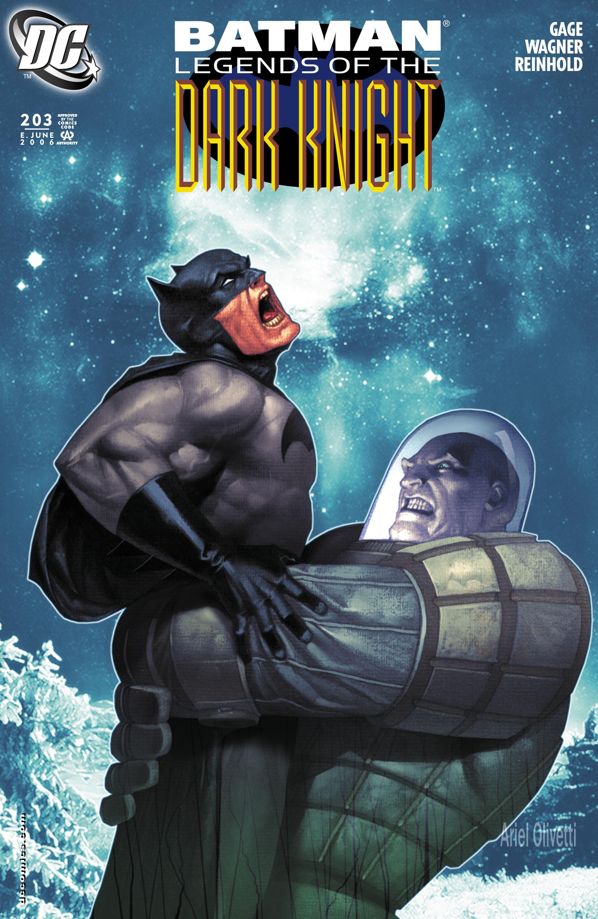 Batman: Legends of the Dark Knight 203 Page 1