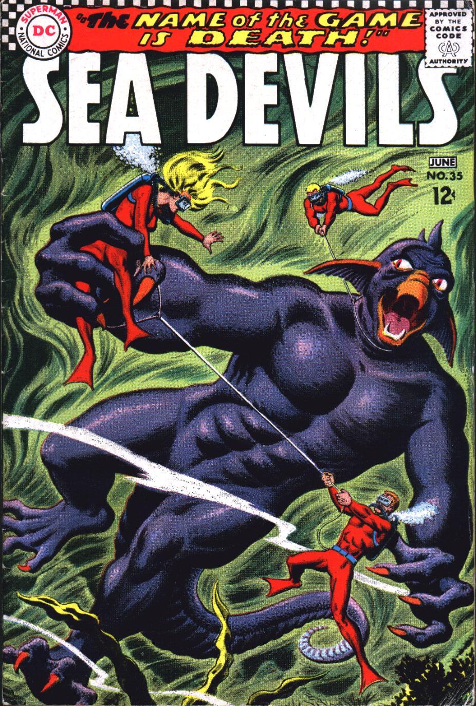 Read online Sea Devils comic -  Issue #35 - 2