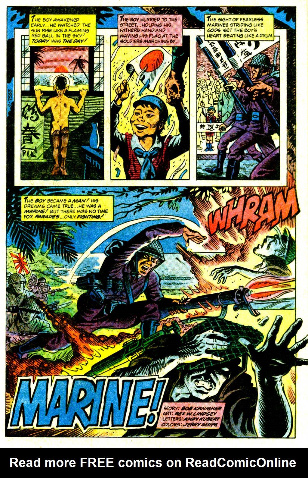 Read online Sgt. Rock comic -  Issue #375 - 24