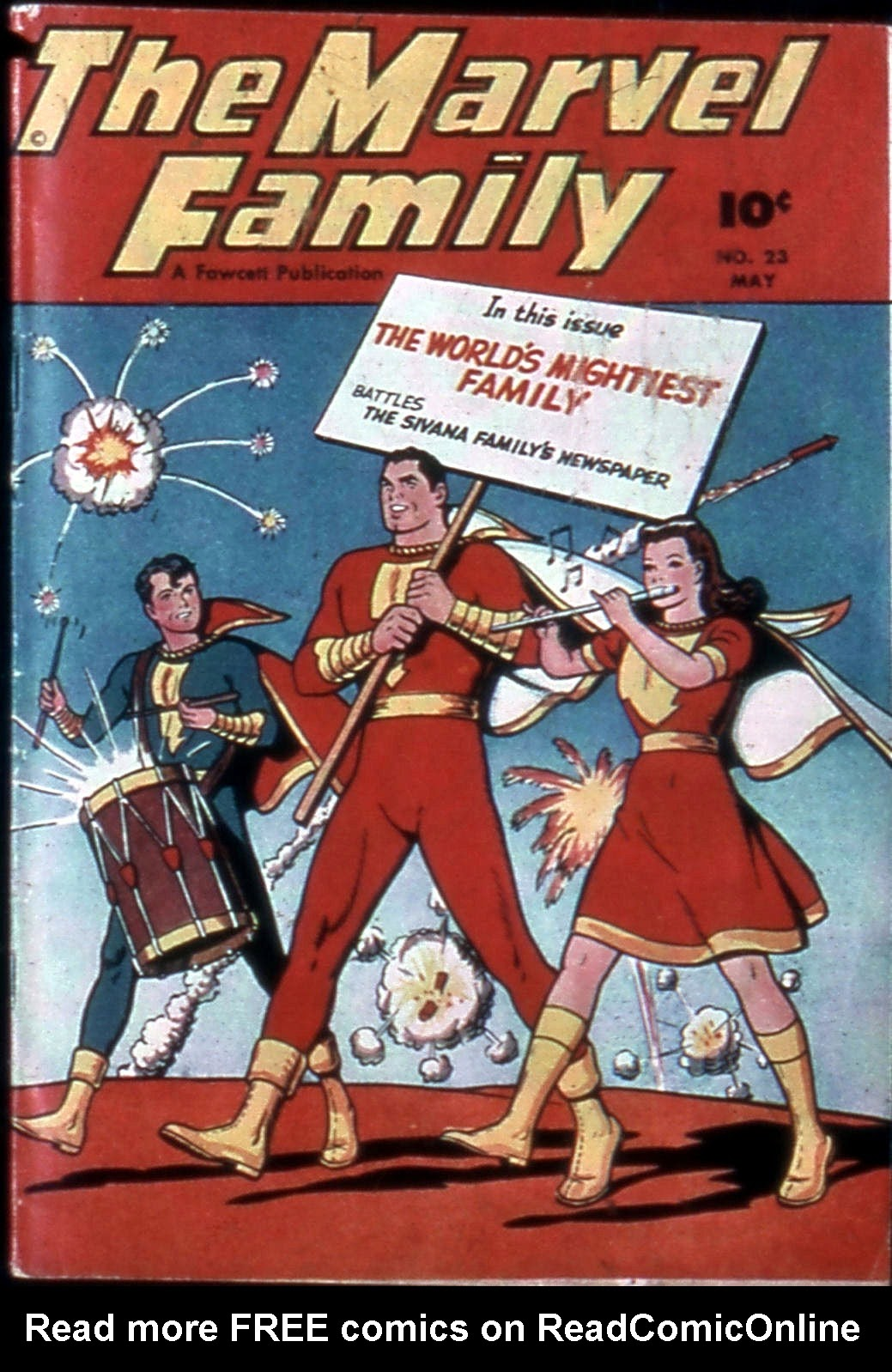 The Marvel Family 23 Page 1