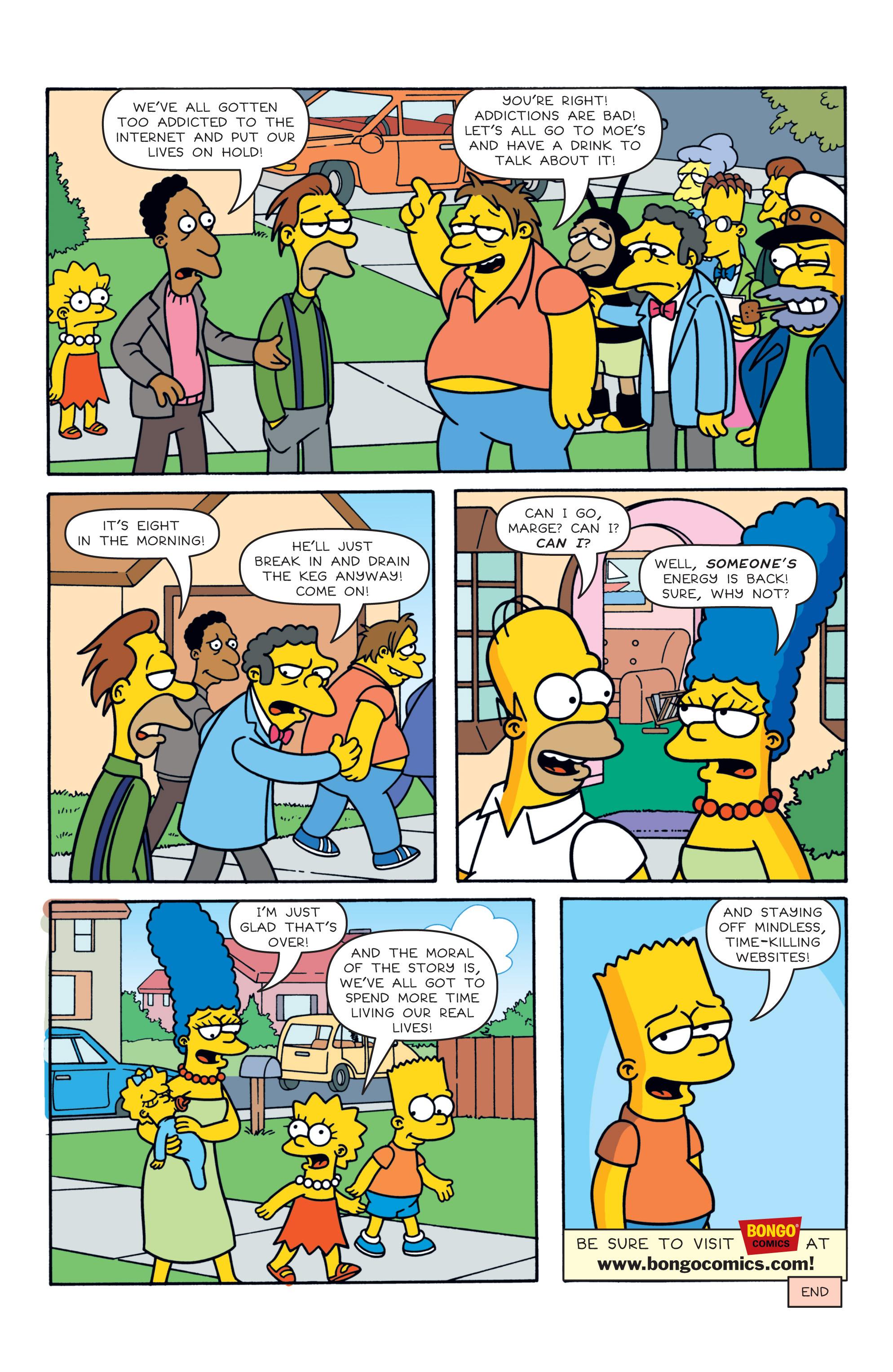 Read online Simpsons Comics comic -  Issue #187 - 23