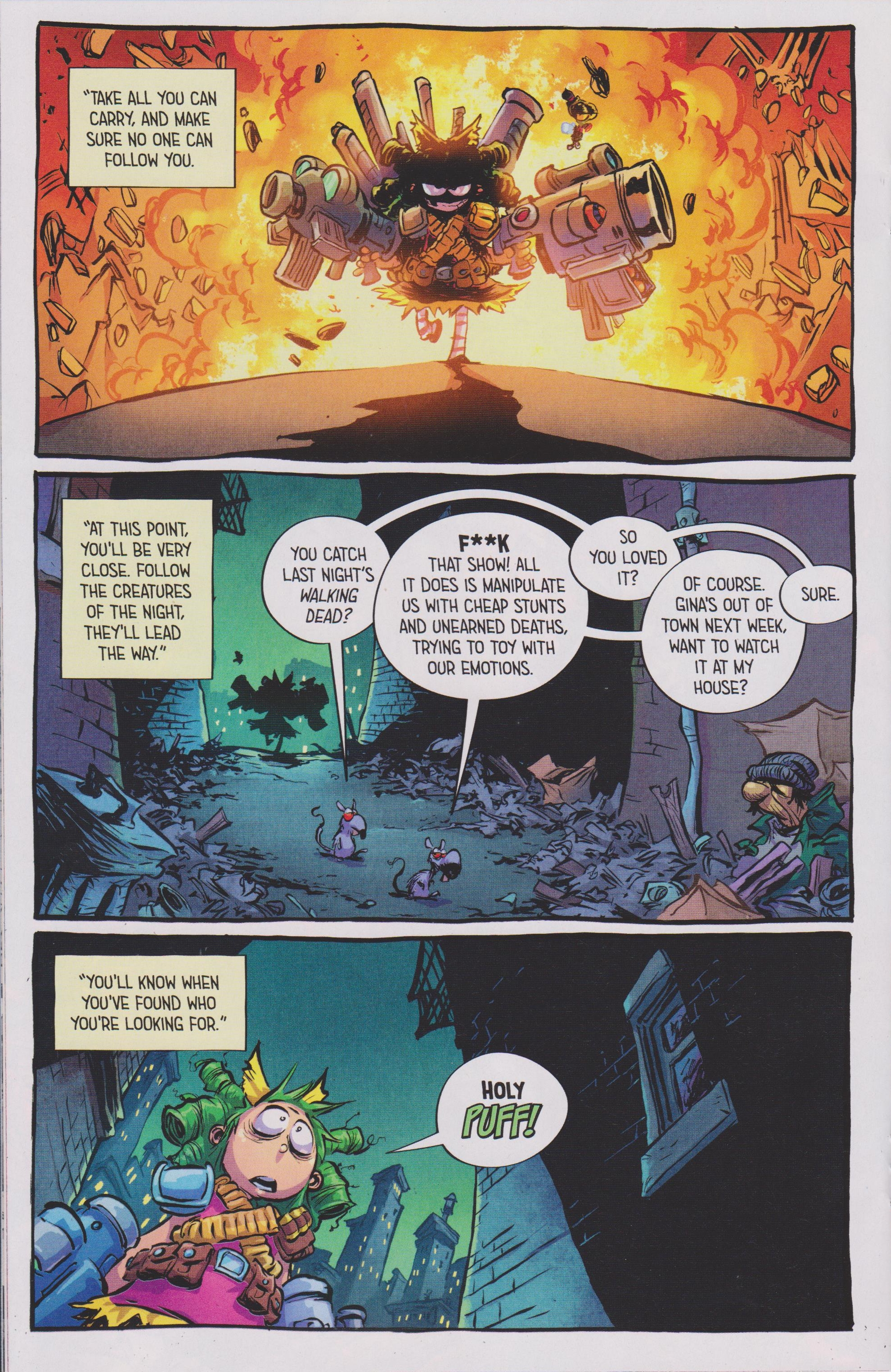 Read online Free Comic Book Day 2017 comic -  Issue # I Hate Image - 18