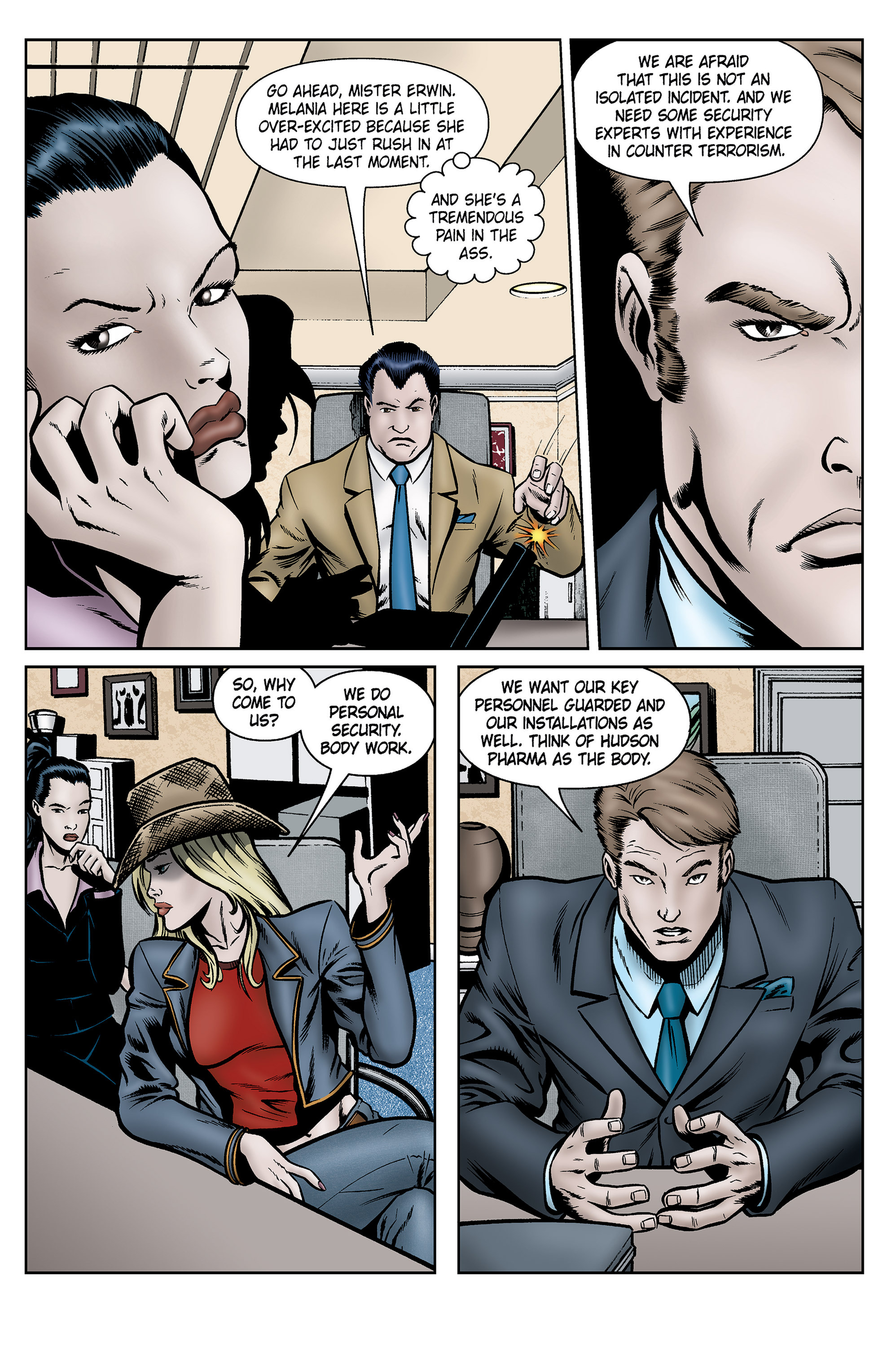 Read online SideChicks comic -  Issue #5 - 24