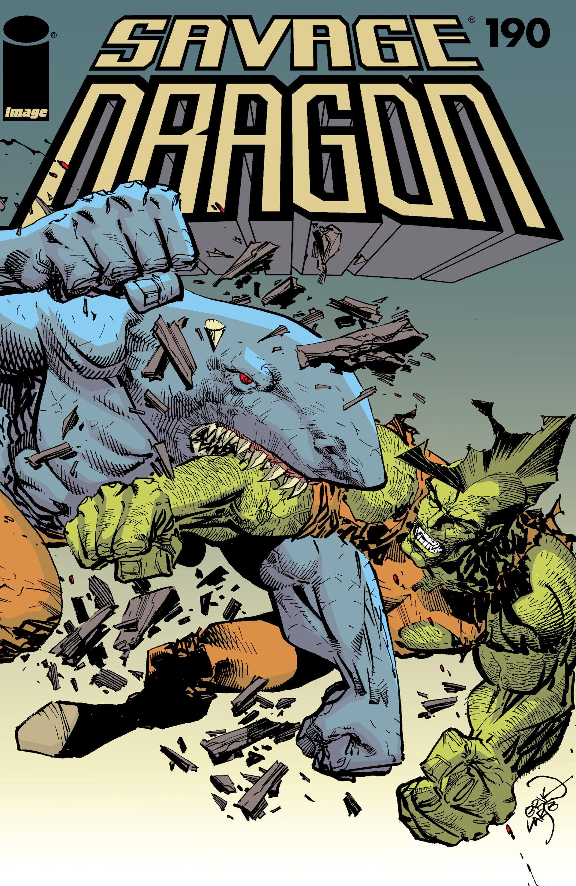 The Savage Dragon (1993) 190 Page 1
