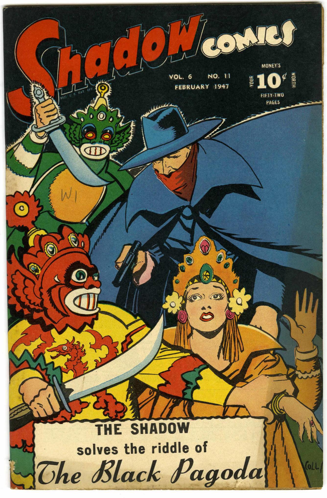 Read online Shadow Comics comic -  Issue #71 - 2