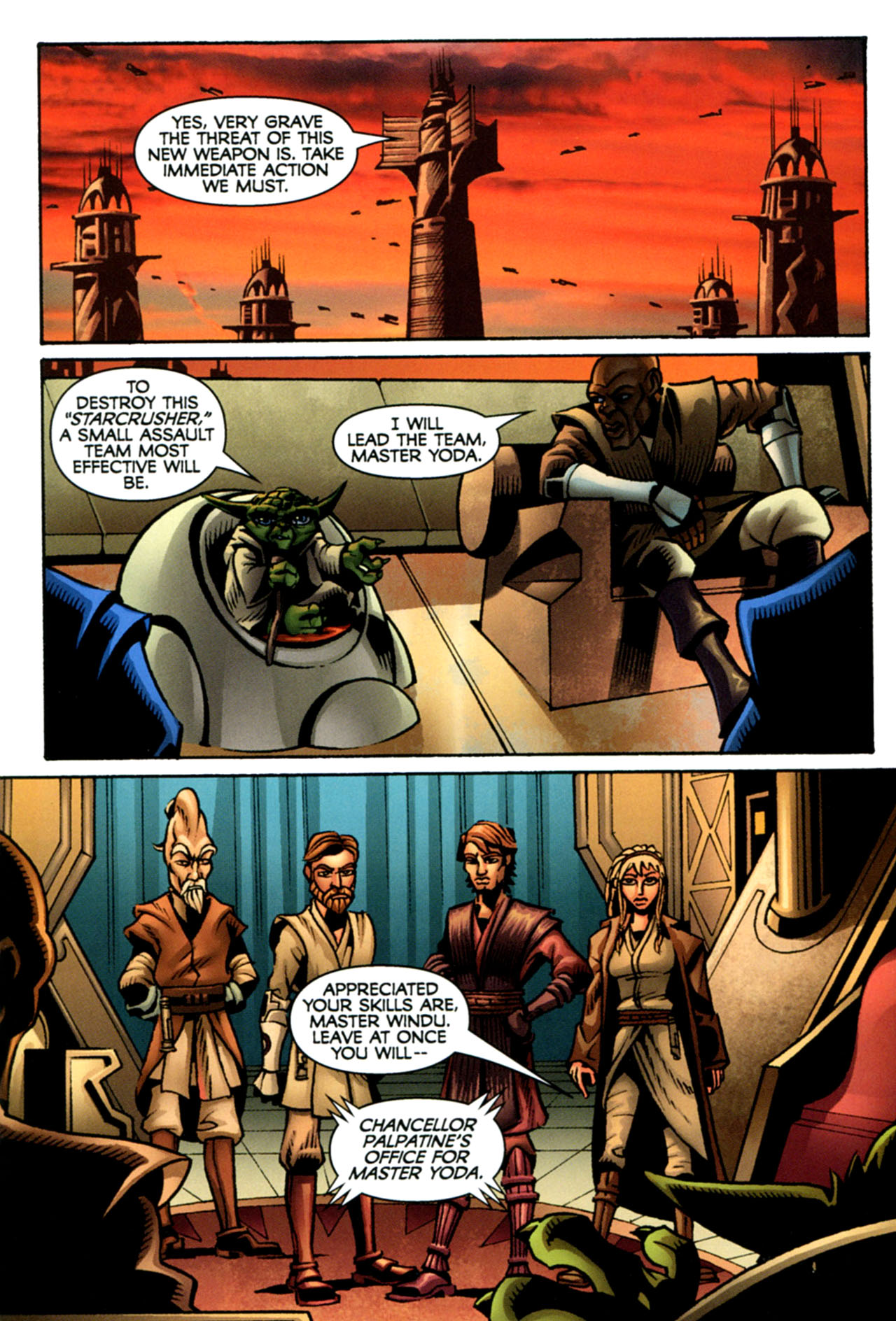 Read online Star Wars: The Clone Wars - The Starcrusher Trap comic -  Issue # Full - 22
