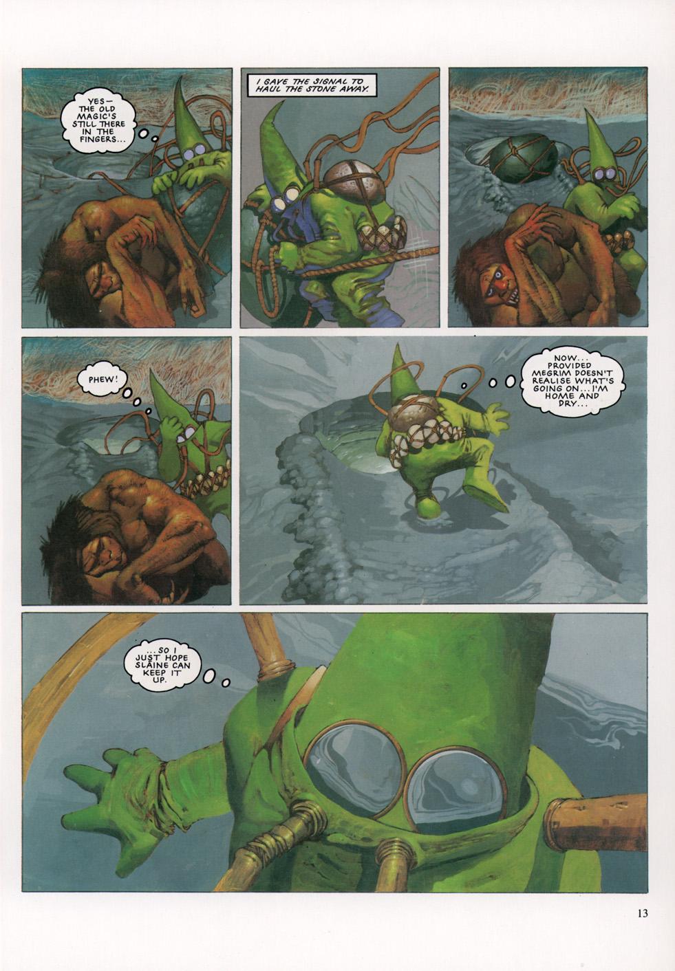 Read online Slaine: The Horned God (1993) comic -  Issue #4 - 14
