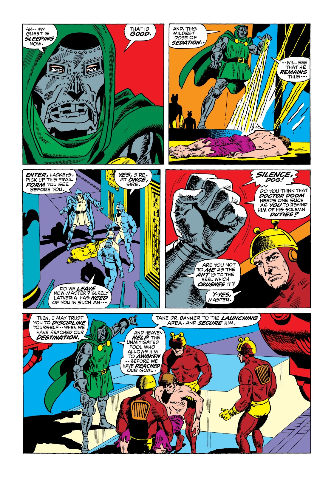 Read online Marvel Masterworks: The Incredible Hulk comic -  Issue # TPB 7 (Part 2) - 100