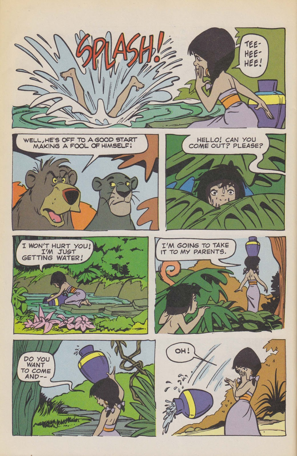 Read online The Jungle Book comic -  Issue # Full - 64