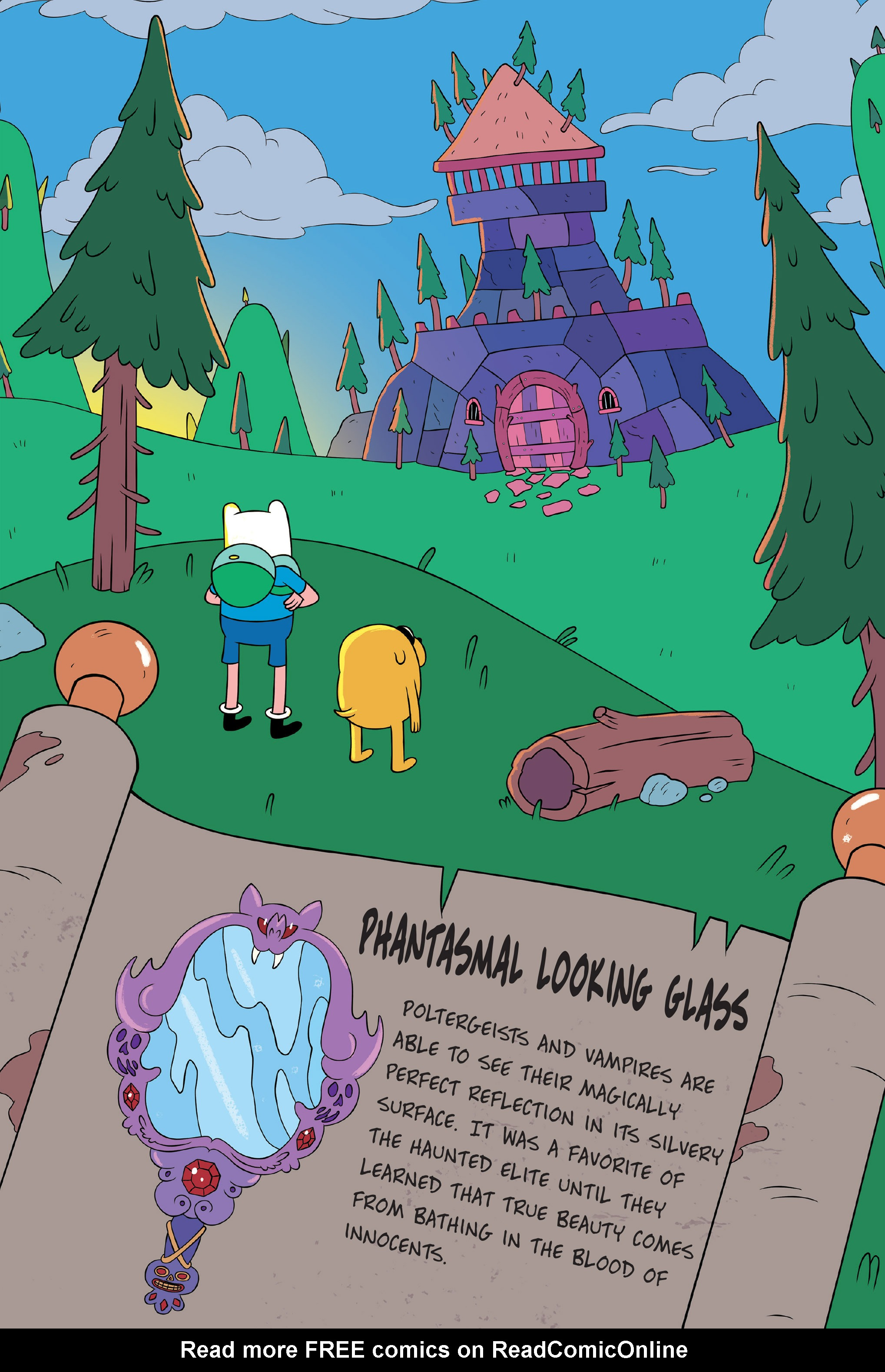 Read online Adventure Time: The Four Castles comic -  Issue #Adventure Time: The Four Castles TPB - 34