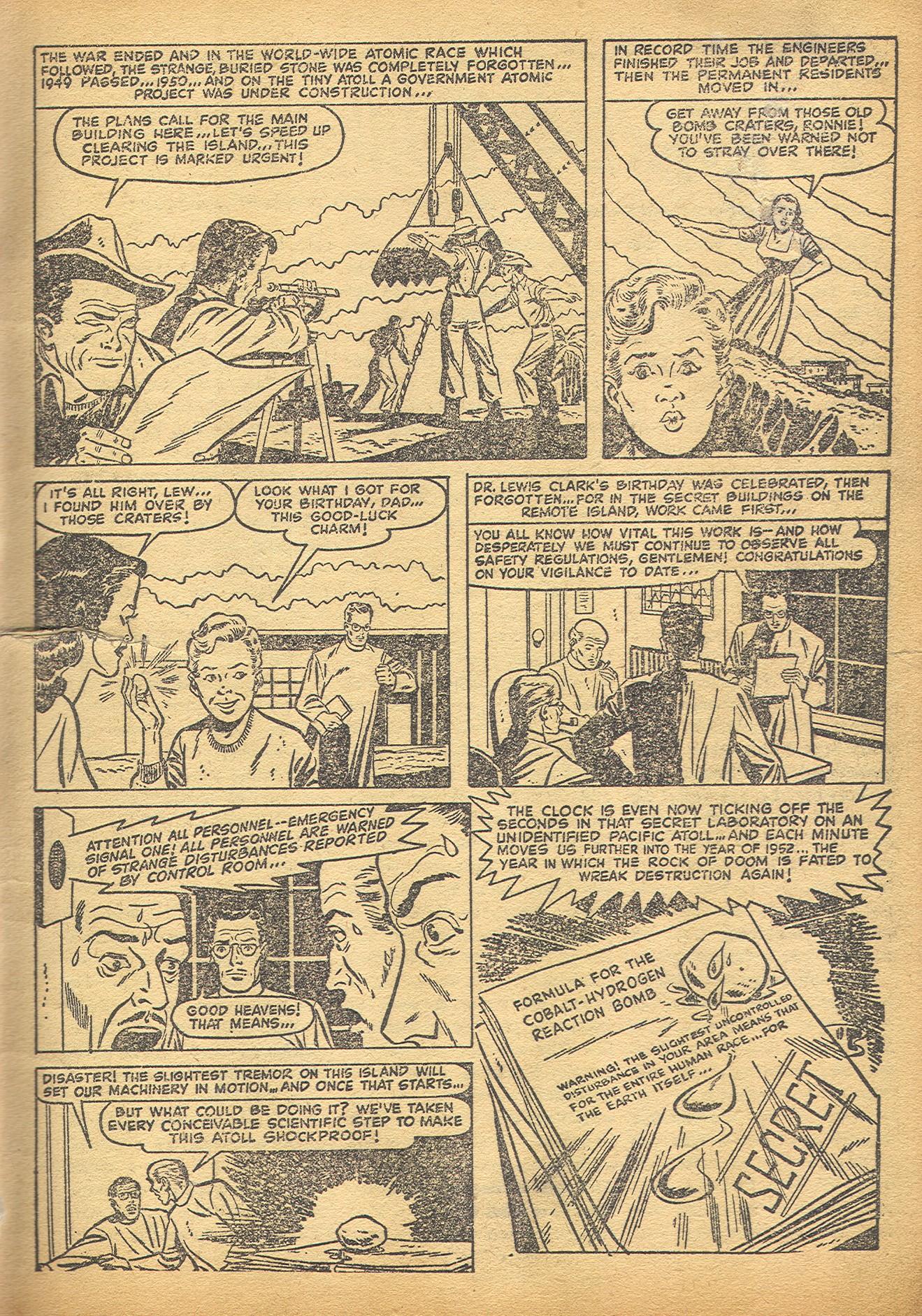 Read online Adventures into Weird Worlds comic -  Issue #8 - 6