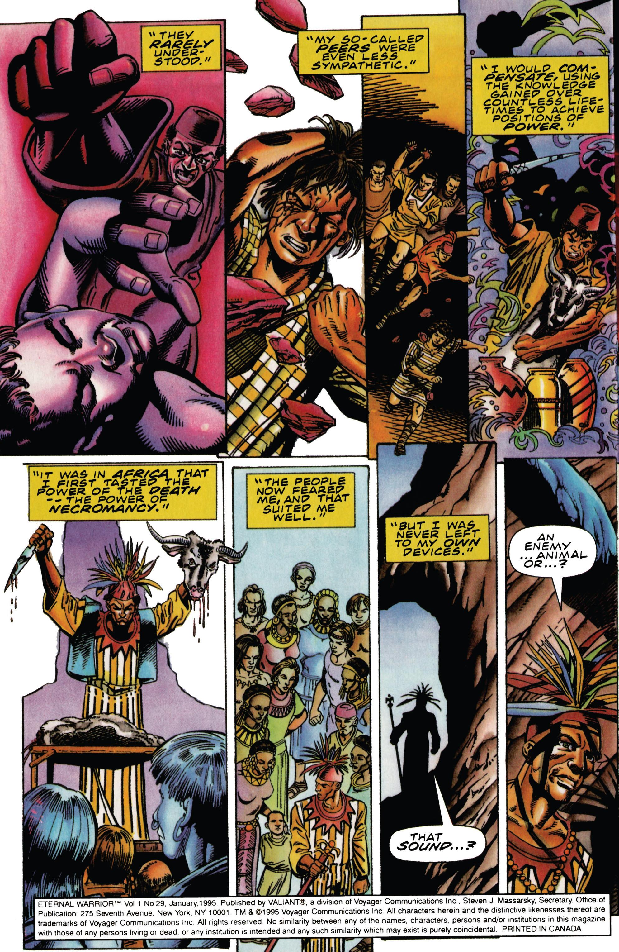 Read online Eternal Warrior (1992) comic -  Issue #29 - 5