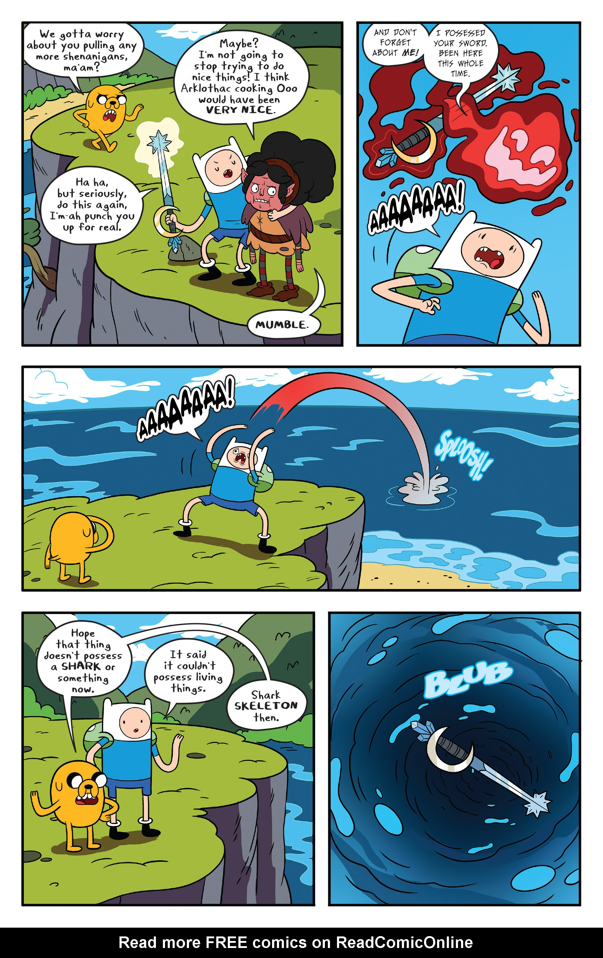 Read online Adventure Time comic -  Issue #59 - 4