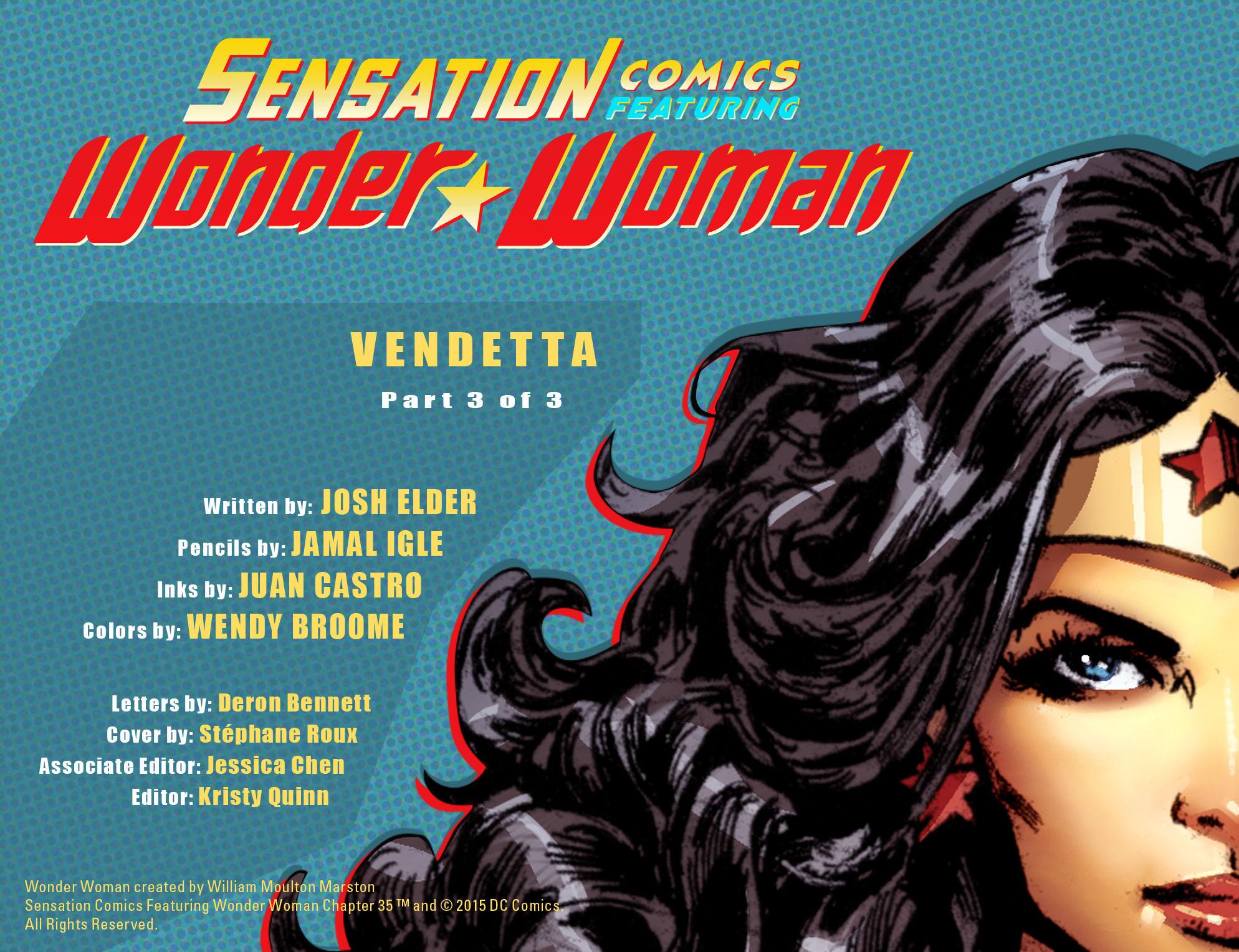 Read online Sensation Comics Featuring Wonder Woman comic -  Issue #35 - 2