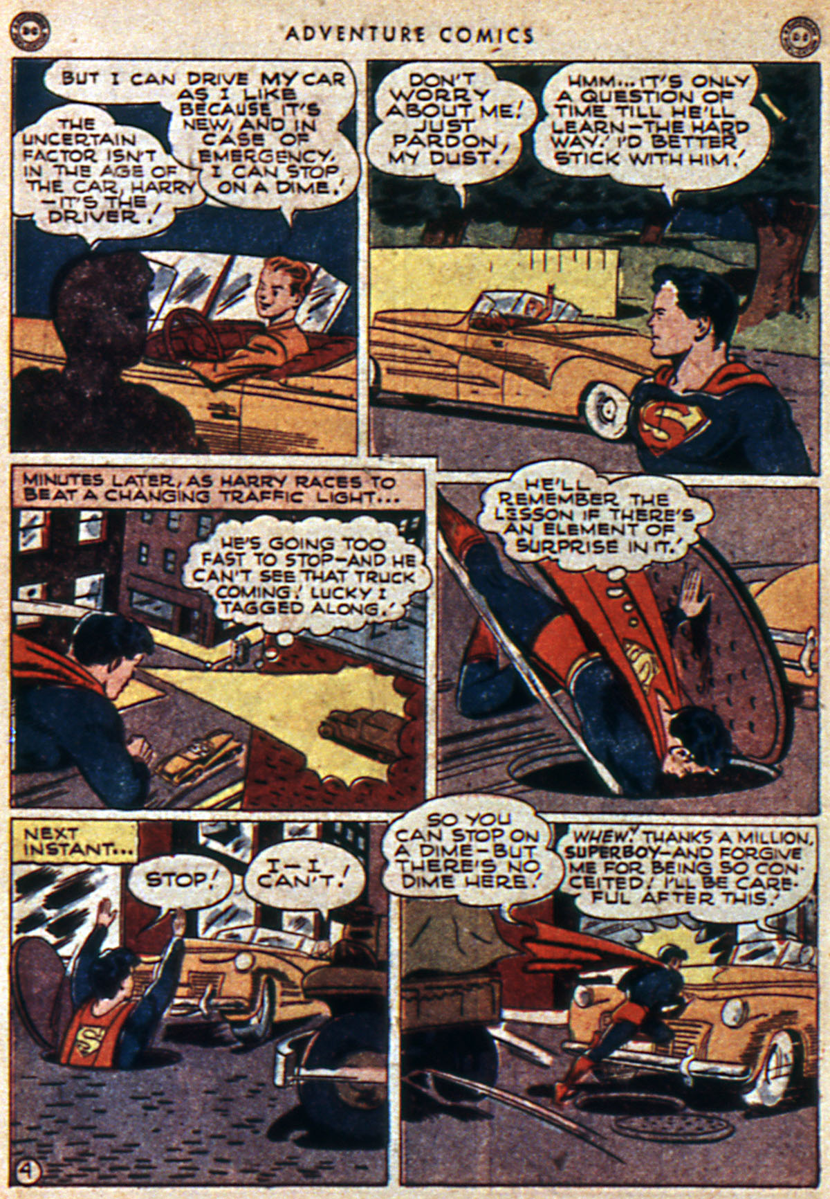 Read online Adventure Comics (1938) comic -  Issue #112 - 6