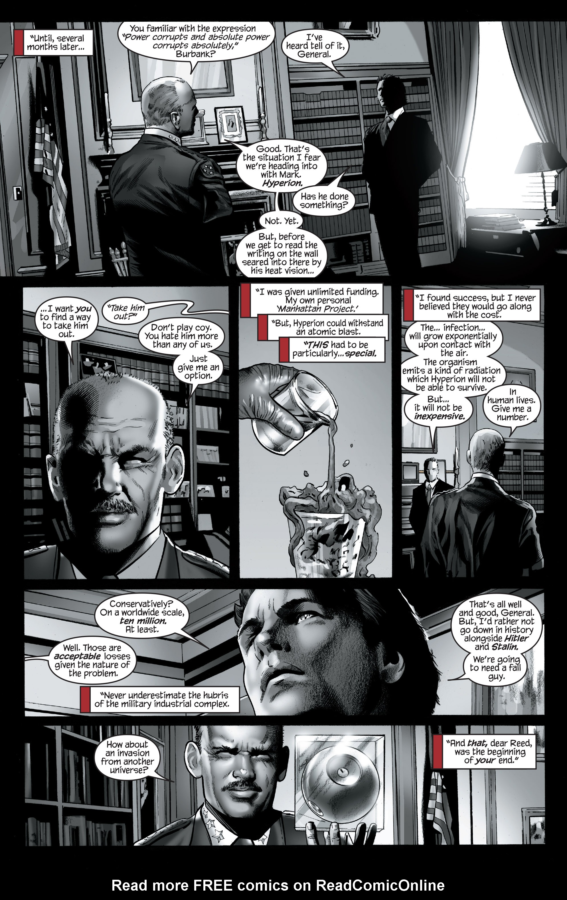 Read online Ultimate Power comic -  Issue #7 - 12