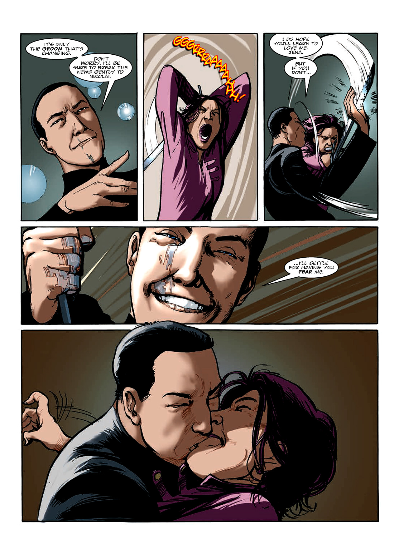 Read online Nikolai Dante comic -  Issue # TPB 10 - 110