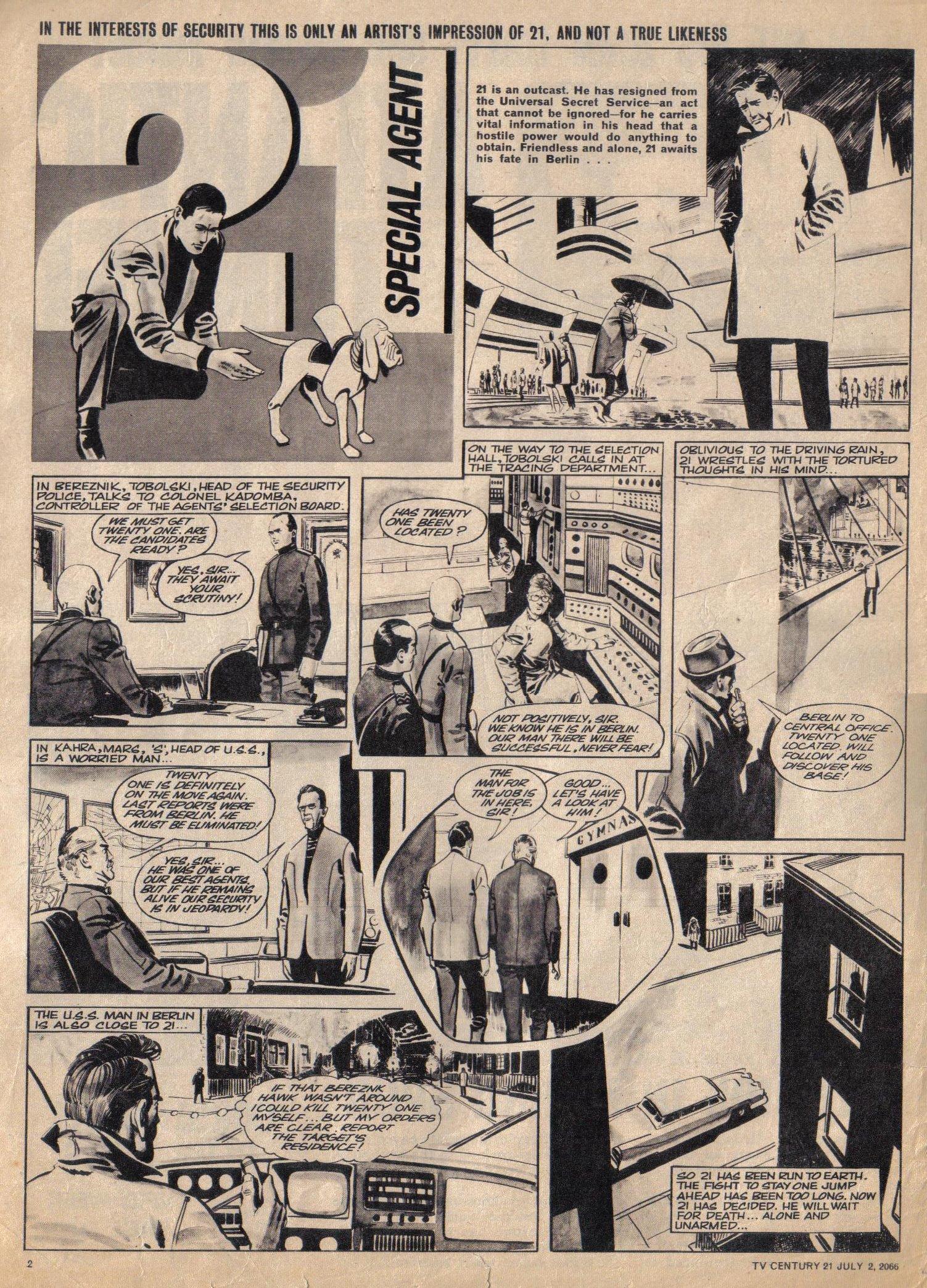 Read online TV Century 21 (TV 21) comic -  Issue #76 - 2