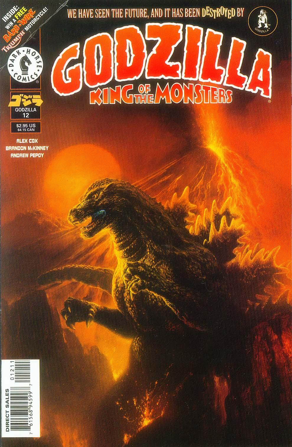 Godzilla (1995) Issue #12 #13 - English 2