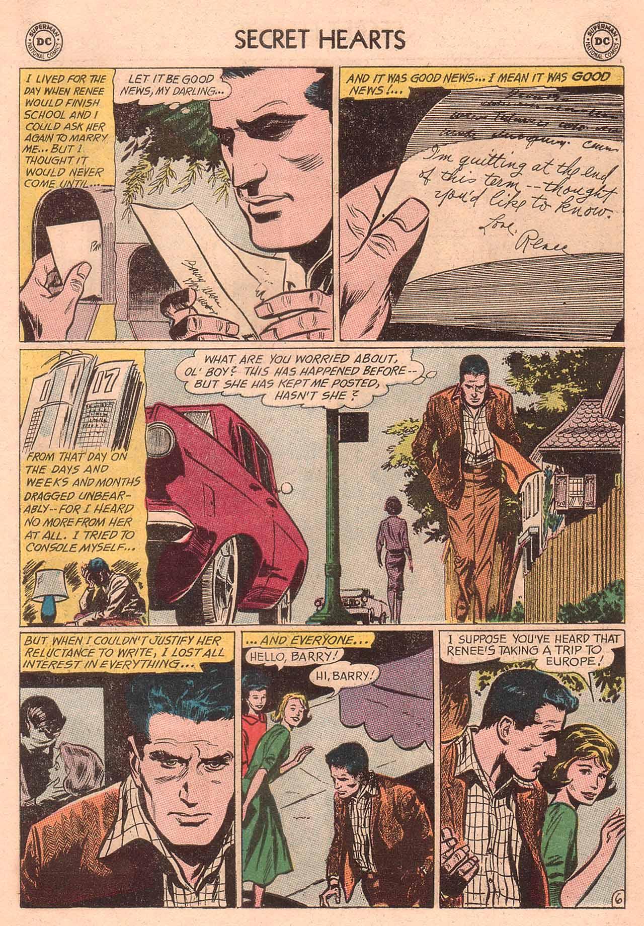 Read online Secret Hearts comic -  Issue #94 - 23