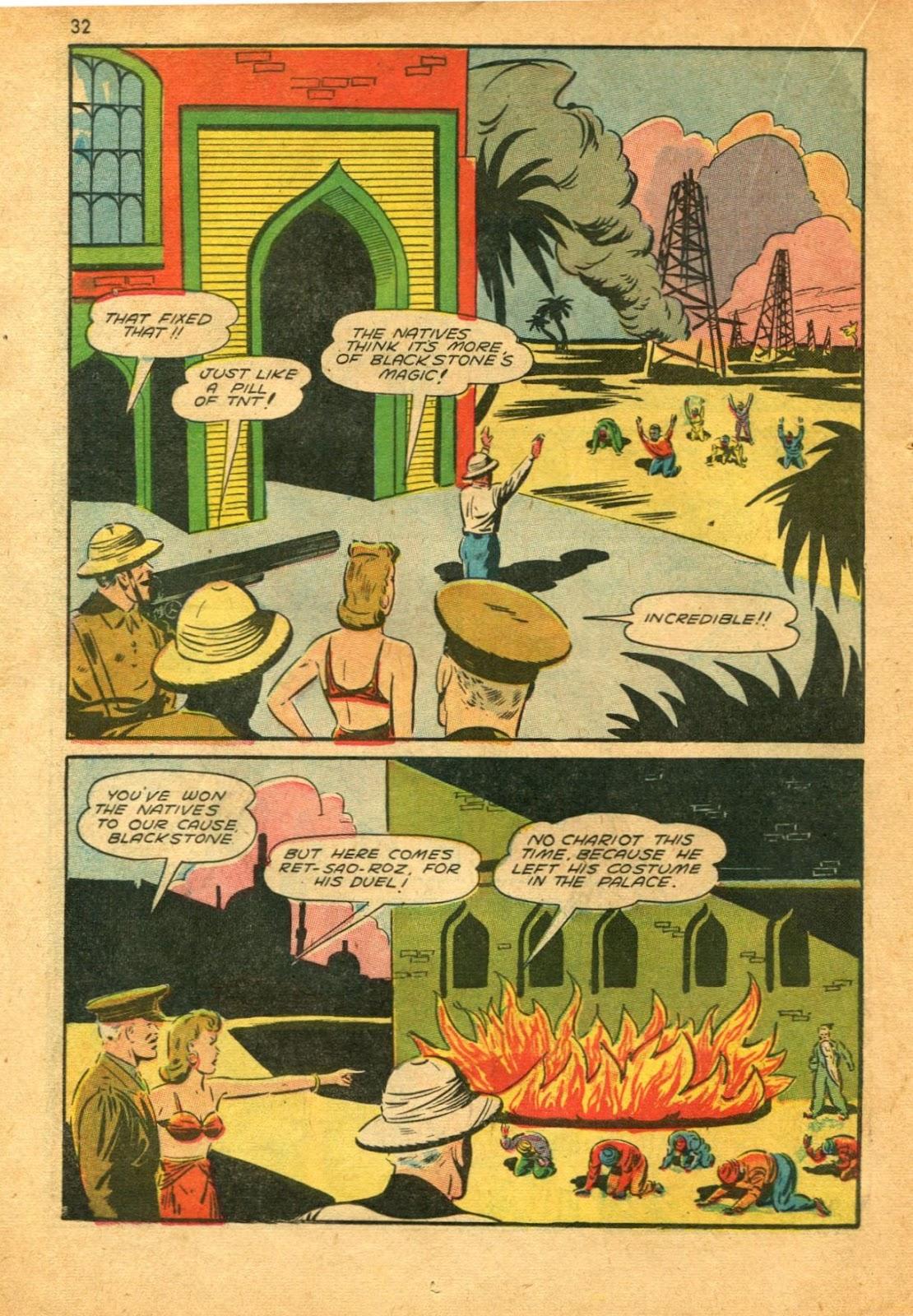 Read online Super-Magician Comics comic -  Issue #11 - 32
