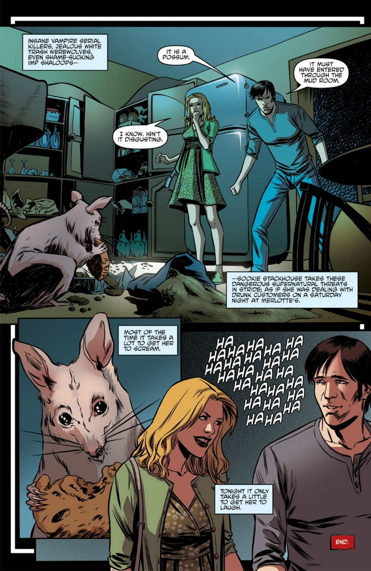 Read online True Blood: French Quarter comic -  Issue #6 - 26