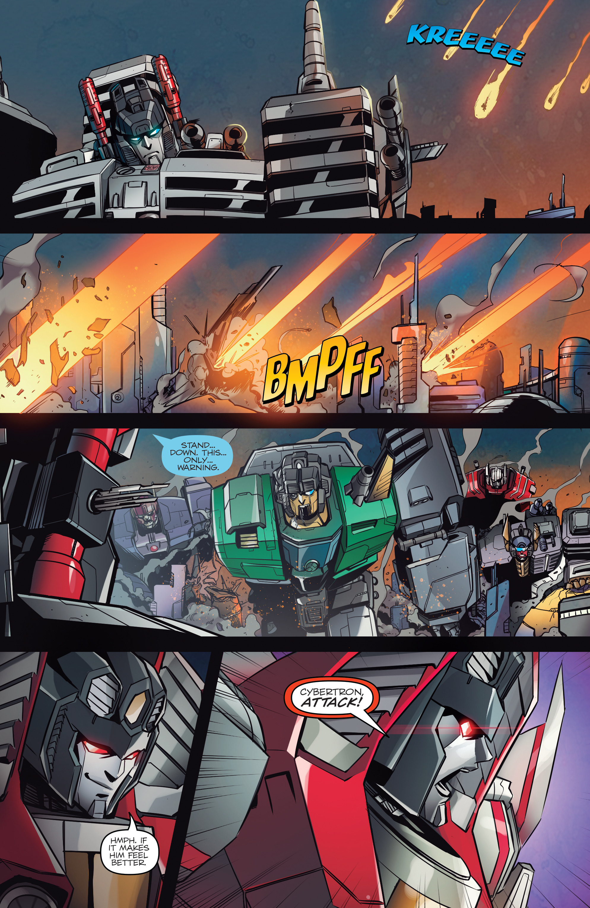 Read online Transformers: Till All Are One comic -  Issue #5 - 18