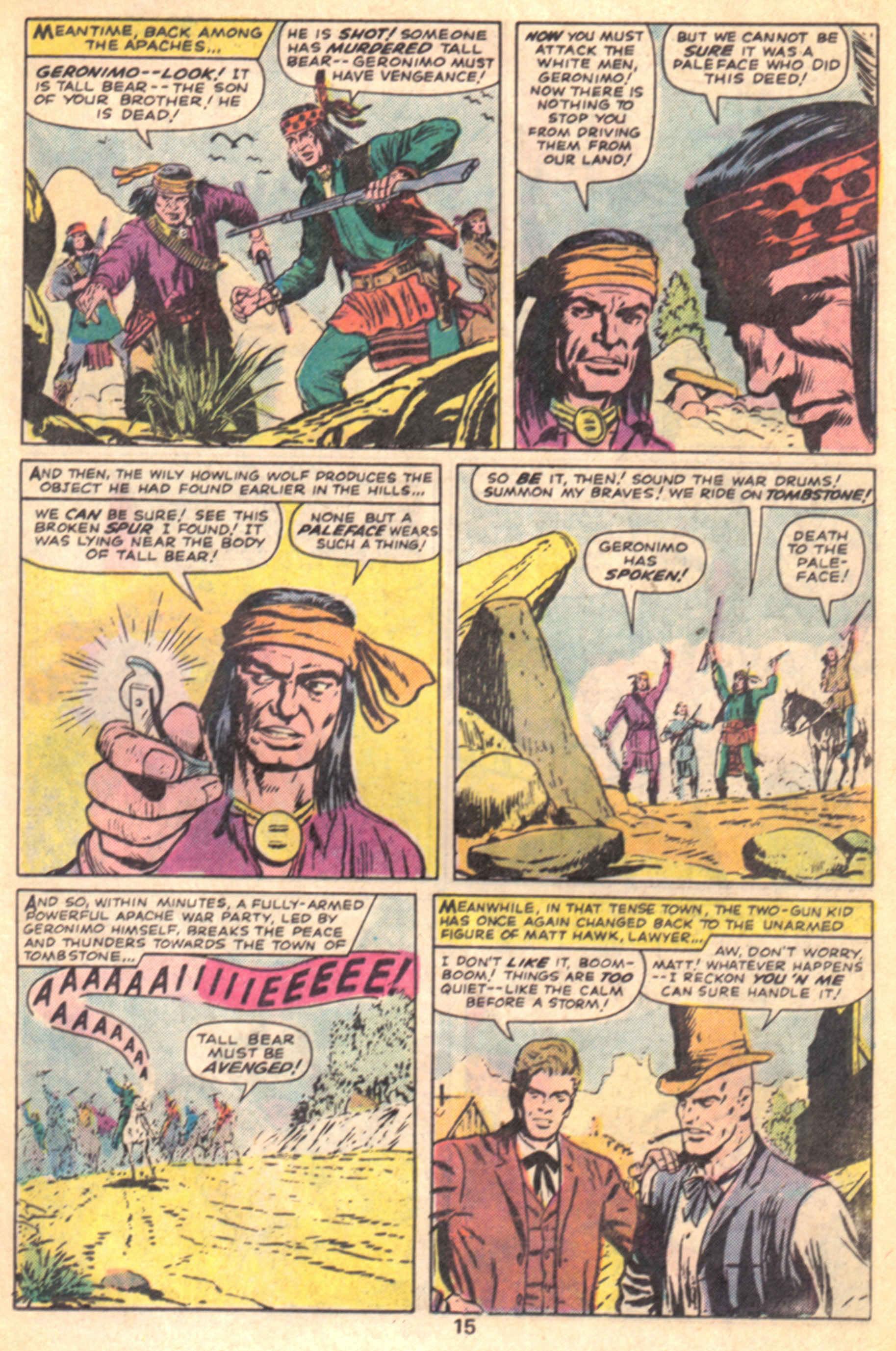 Read online Two-Gun Kid comic -  Issue #127 - 18