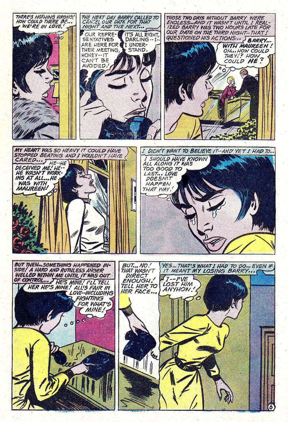 Read online Secret Hearts comic -  Issue #131 - 17